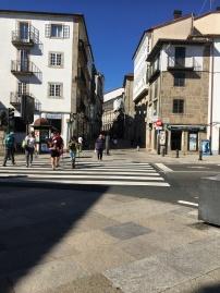 Pilgrims on the final few steps