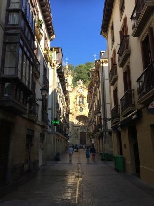 Old town San Sebastian