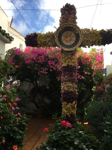 Shop interior courtyard in Mijas