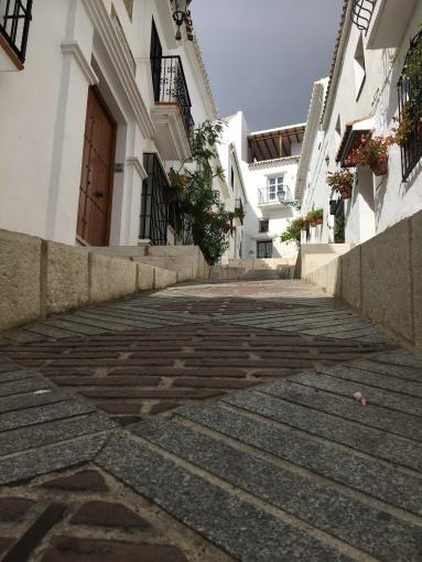 Empty streets at last