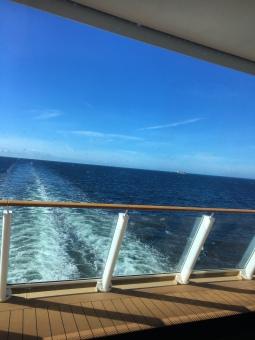 Clear skies, calm seas