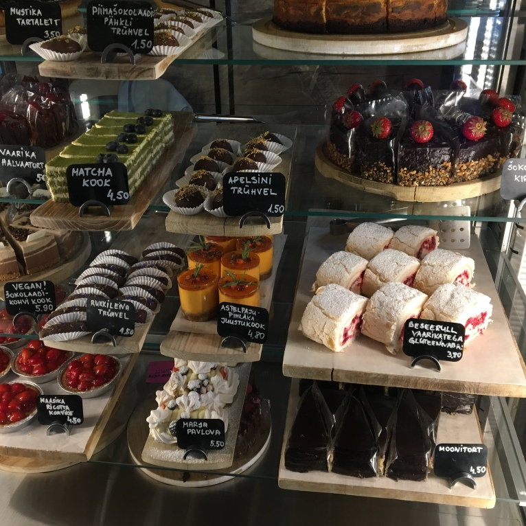 Luscious looking (and tasting) cakes