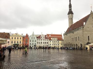 Tallin town square
