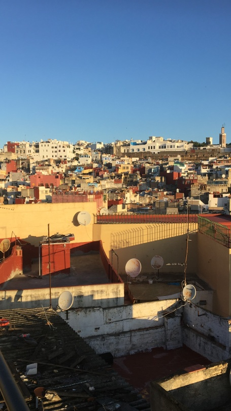 Views over Tangier Medina