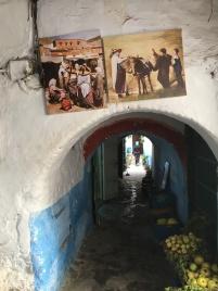 Tiny alleyways