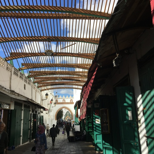 Part of the Tetouan souk