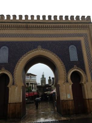 the Blue gate, Fez medina