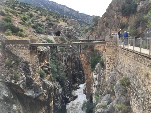 An old bridge, now unused