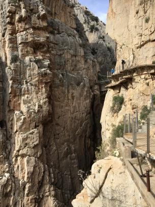 Final cliff-side walk