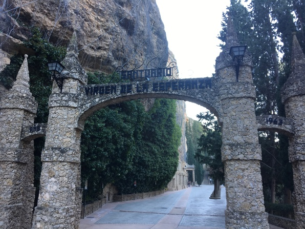 Entrance to the Santuario