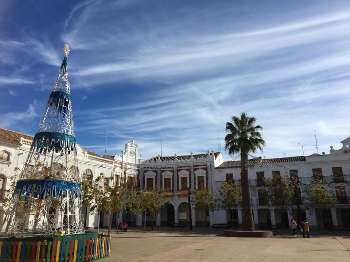 Manzanares town square