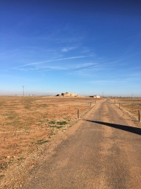 Country roads to ancient fortified wells