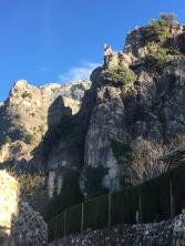 Amazing rocky mountainsides