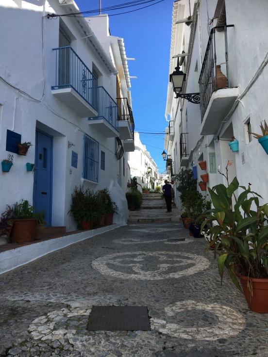 Frigiliana streets