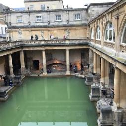 Restored Roman Baths