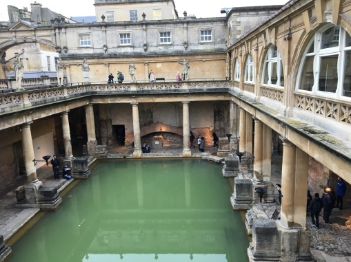 Restored Roman Baths