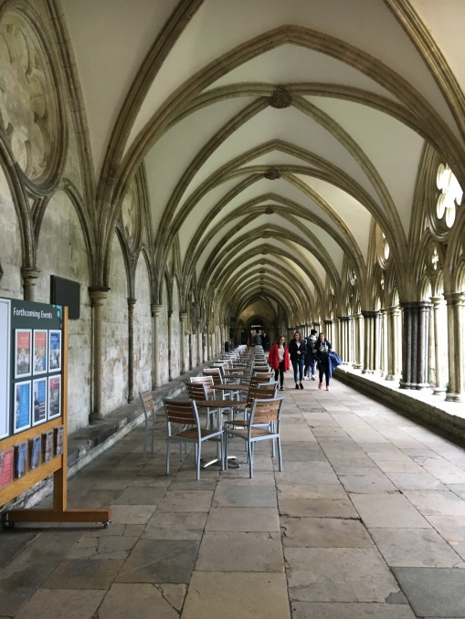 Covered cloisters
