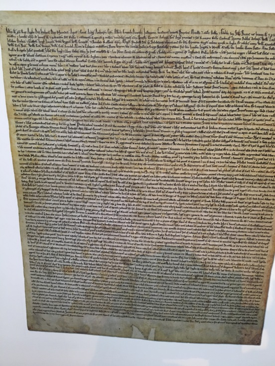 Copy of the Magna Carta