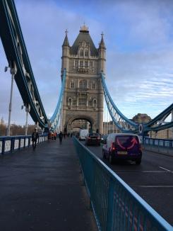 Walking over this iconic bridge