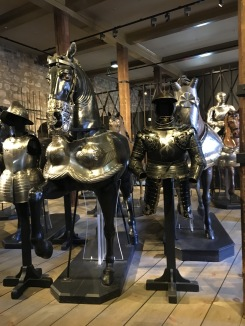 Armour for horse and man