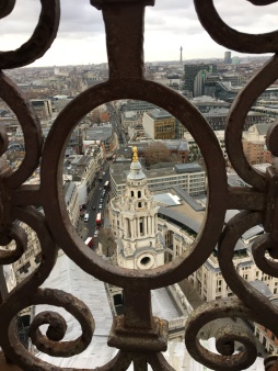 Views from the top of St Paul's
