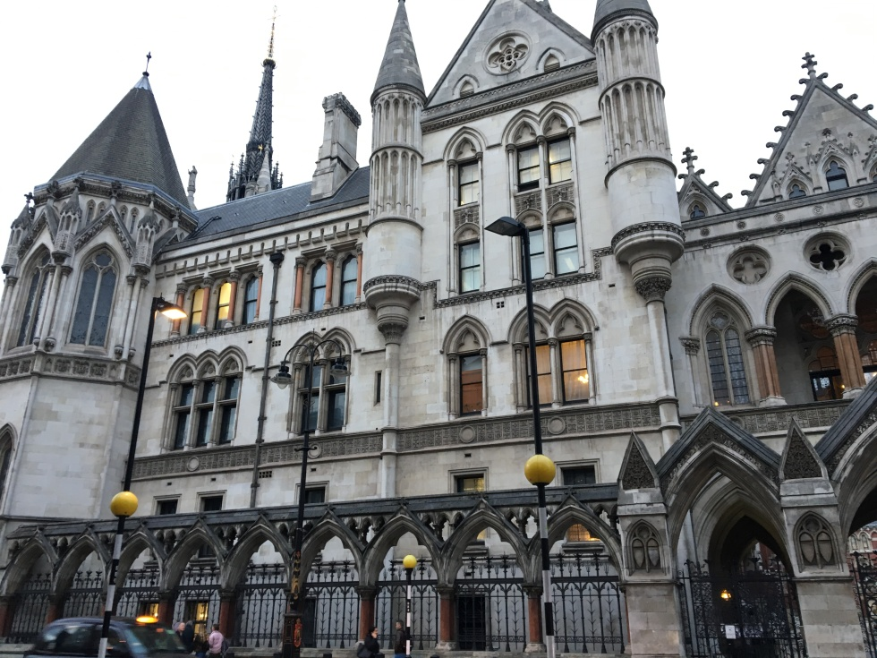 The Law courts