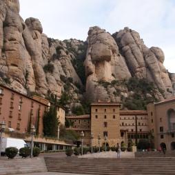 Huge rock landscape