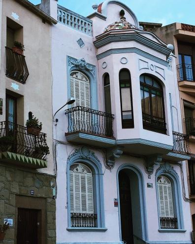 Beautiful architecture in Monistrol