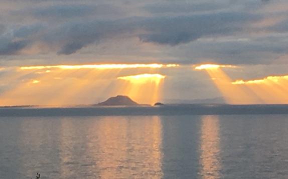 Sunset over Mount Maunganui