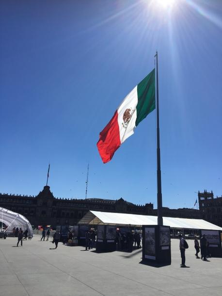 Mexican pride, Zocalo Plaza
