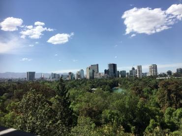 Views over Mexico City
