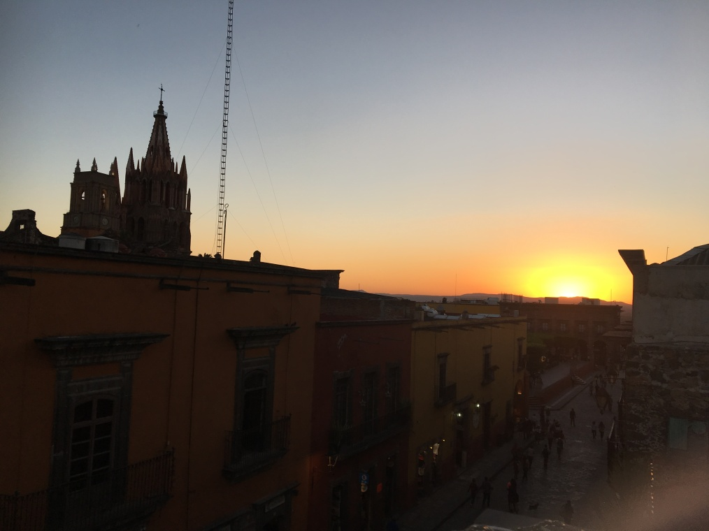 Sunset at San Miguel