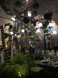 Evening dinner venue